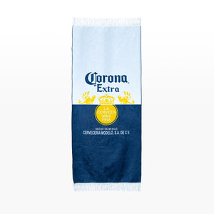 Beach Towel - Corona Label Print