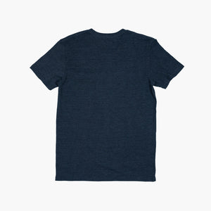 Label Tee - Charcoal Heather