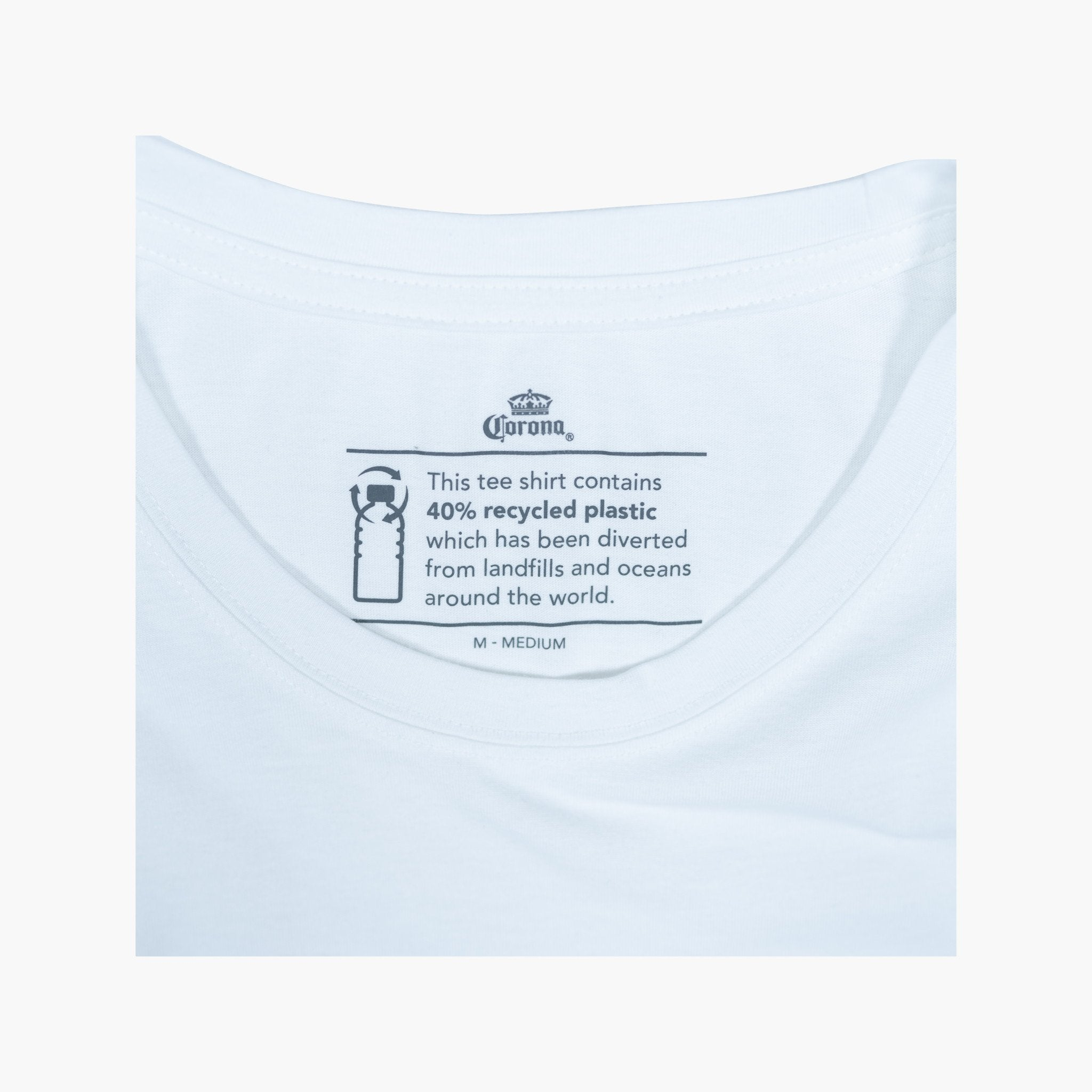 Label Tee - Natural White