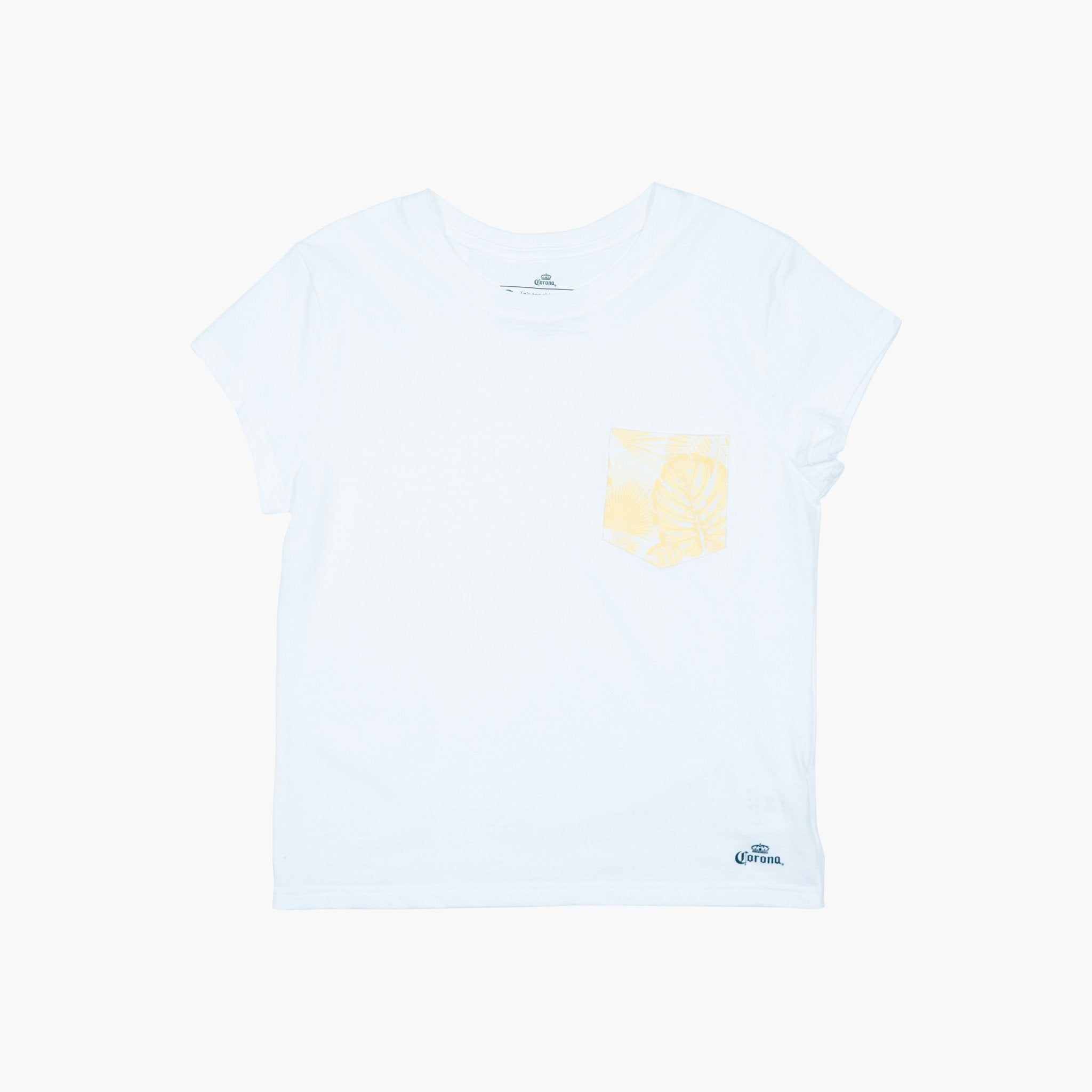 Women's Paradise Pocket Tee - Natural White