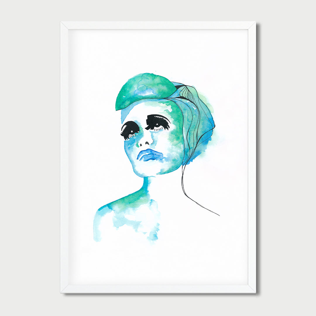 Art Print Lazy Green (SALE)
