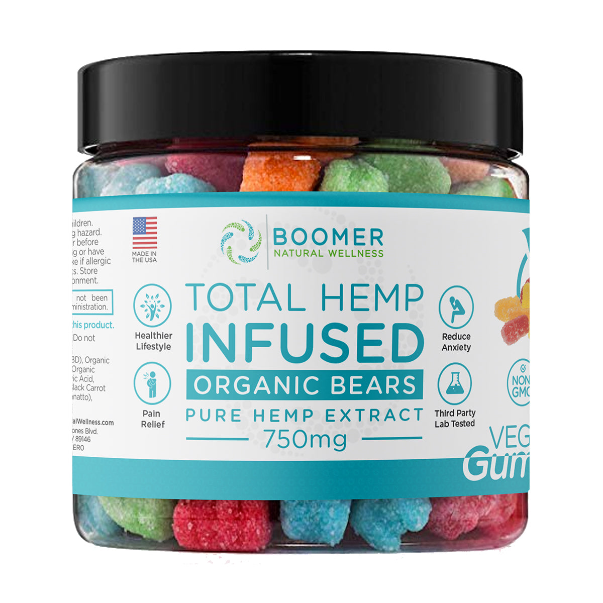 Vegan Gummies with CBD