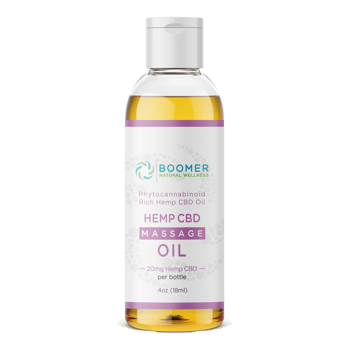 Hemp CBD Massage Oil