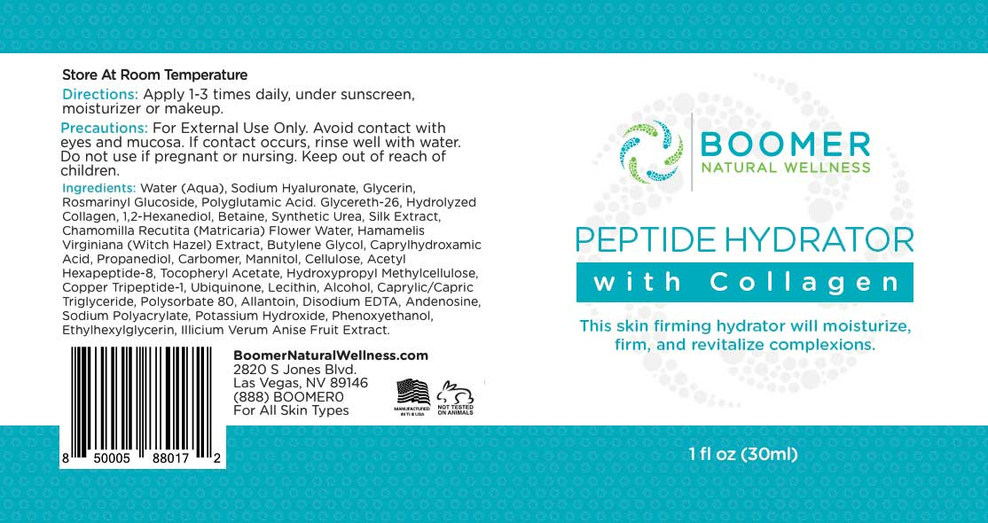 Peptide Hydrator with Collagen