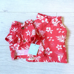 Hawaiian shirt Pink