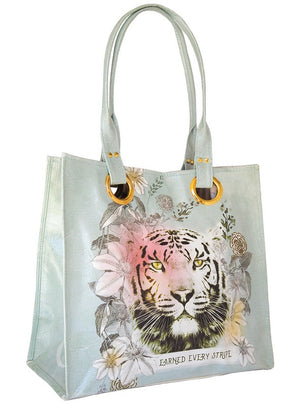 Tiger Stripes Luxe Tote
