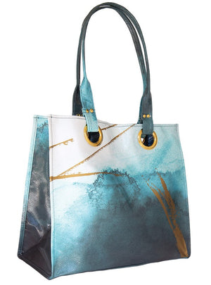 Catalina Watercolor Luxe Tote