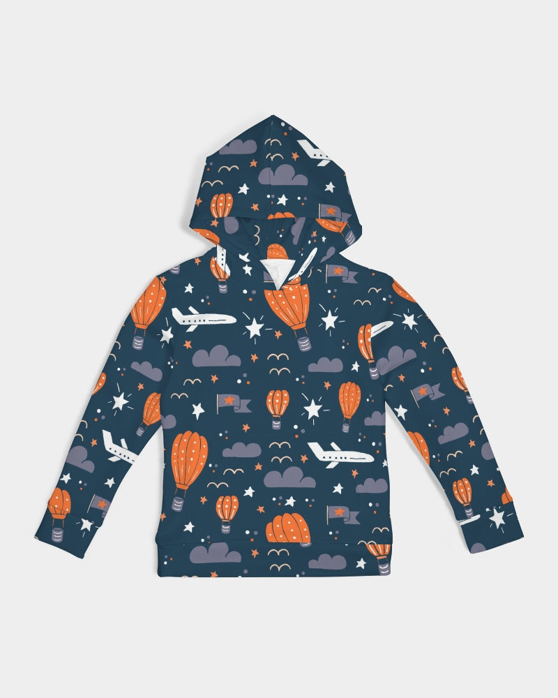 Hot Air Balloon Kids Hoodie