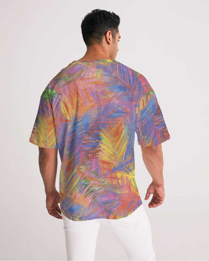 Flolige Colorful Men's Premium Heavyweight Tee