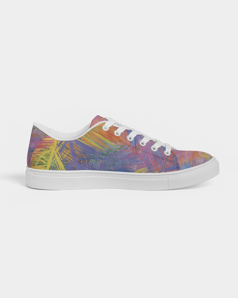 Flolige Colorful Women's Faux-Leather Sneaker