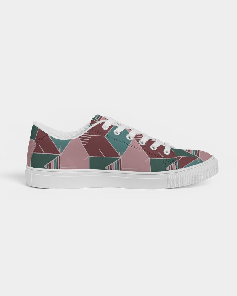 Geometry Women's Faux-Leather Sneaker