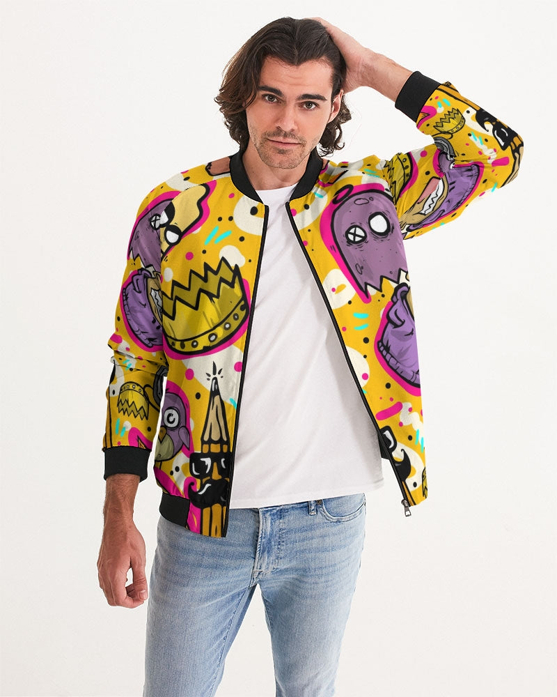 King's Burger Men's Bomber Jacket