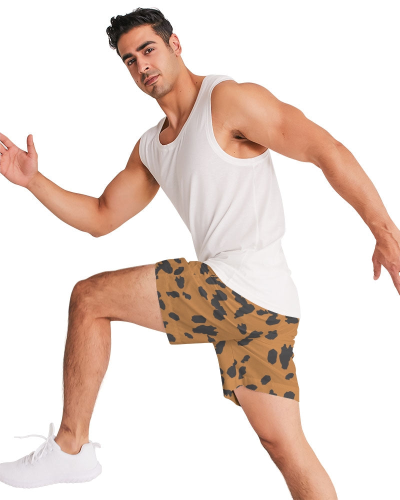 Love Orange Men's Jogger Shorts