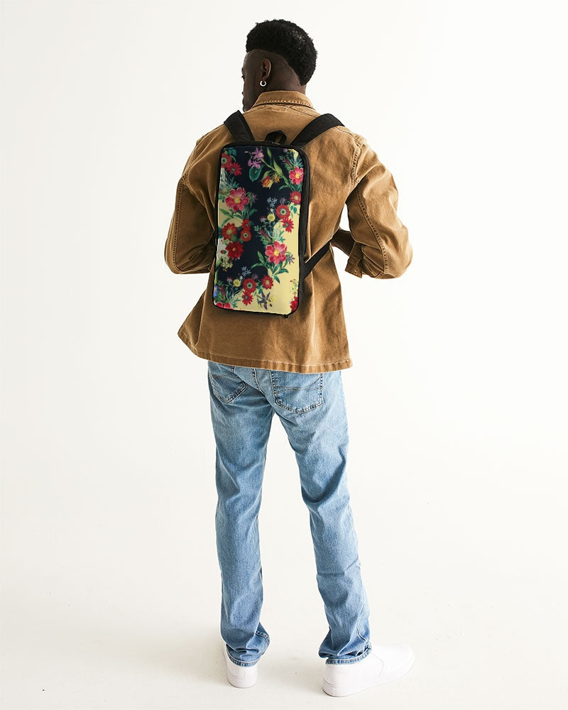 Blooming In The Morning Slim Tech Backpack