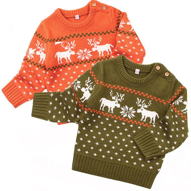 Holiday Moose Sweater