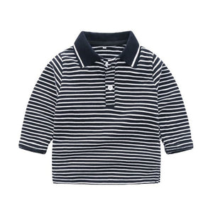 Long-Sleeve Polo