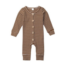 Load image into Gallery viewer, Long Sleeve Knitted Romper (Multiple Colors)