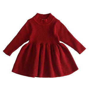 Autumn Sweater Dress (Multiple Colors)