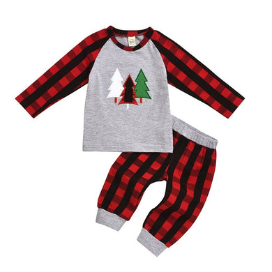 Holiday Plaid Pajamas