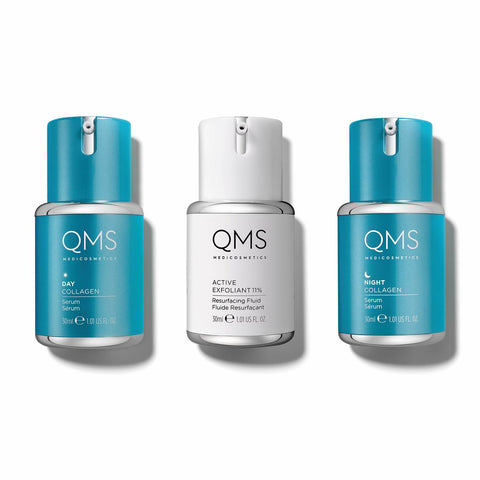 !QMS Classic Set 3 x 30ml - GlowingSkin.nl