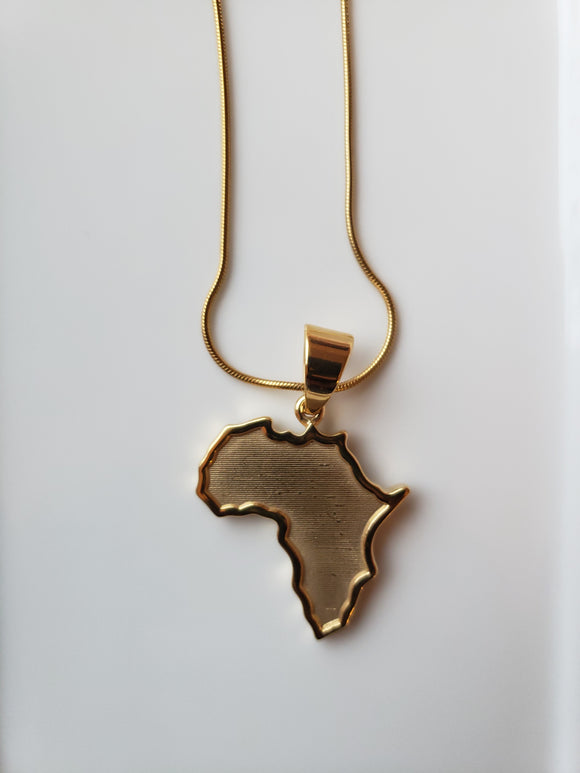 MAP OF AFRICA CHAIN