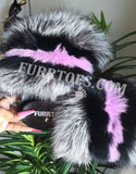 PURPLE GLAZE FLUFFY