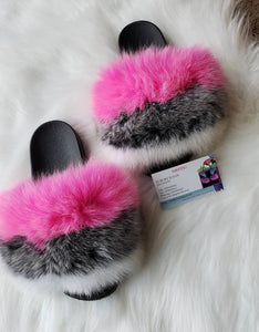 Three color Women's slippers