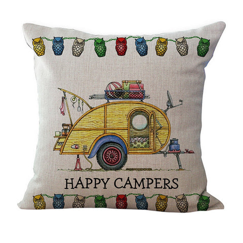 Image of Camping Lovers Pillow Case