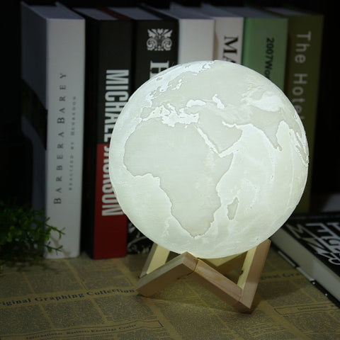Earth 3d Lamp
