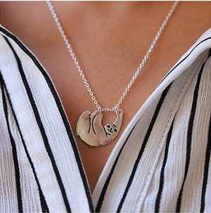 Cute Sloth Necklace