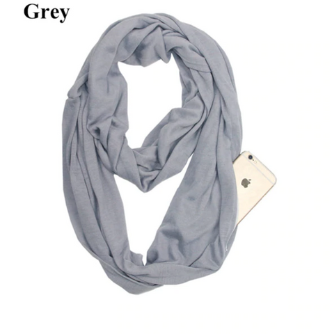 Image of Infinity Scarf with Pocket
