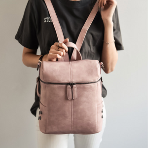 Vintage Backpack and Shoulder Bag