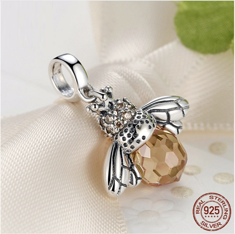 Bee Pendant 925 Sterling Silver