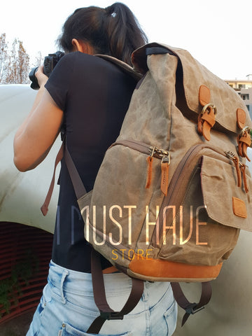 Image of Premium Vintage Photography Backpack