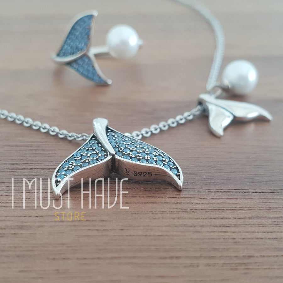 Mermaid Ring 925 Silver