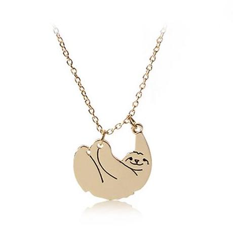 Image of Cute Sloth Necklace