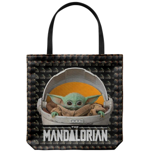 Baby Yoda Cute Tote Bag