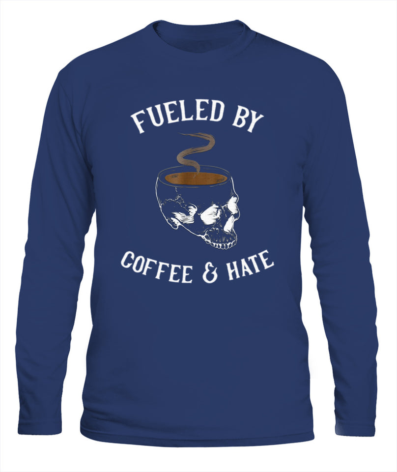 Fueled By Coffee And Hate Misanthropic Get Angry shirt