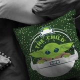 The Mandalorian The Child Floating Pod Frog Snack Pillow