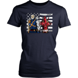 Chimichanga Junction Deadpool And Cable Shirts