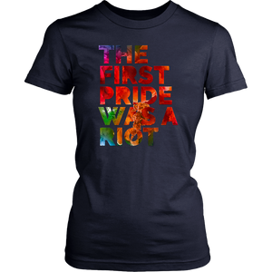 The First Pride Was a Riot Pride Parade Shirt NYC 50th Anniversary Gay LBGTQ Rights