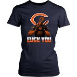Chicago Bears x Deadpool Fuck You And Love You NFL Shirts