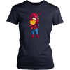 Spider Man Hug Baby Iron Man T-Shirt