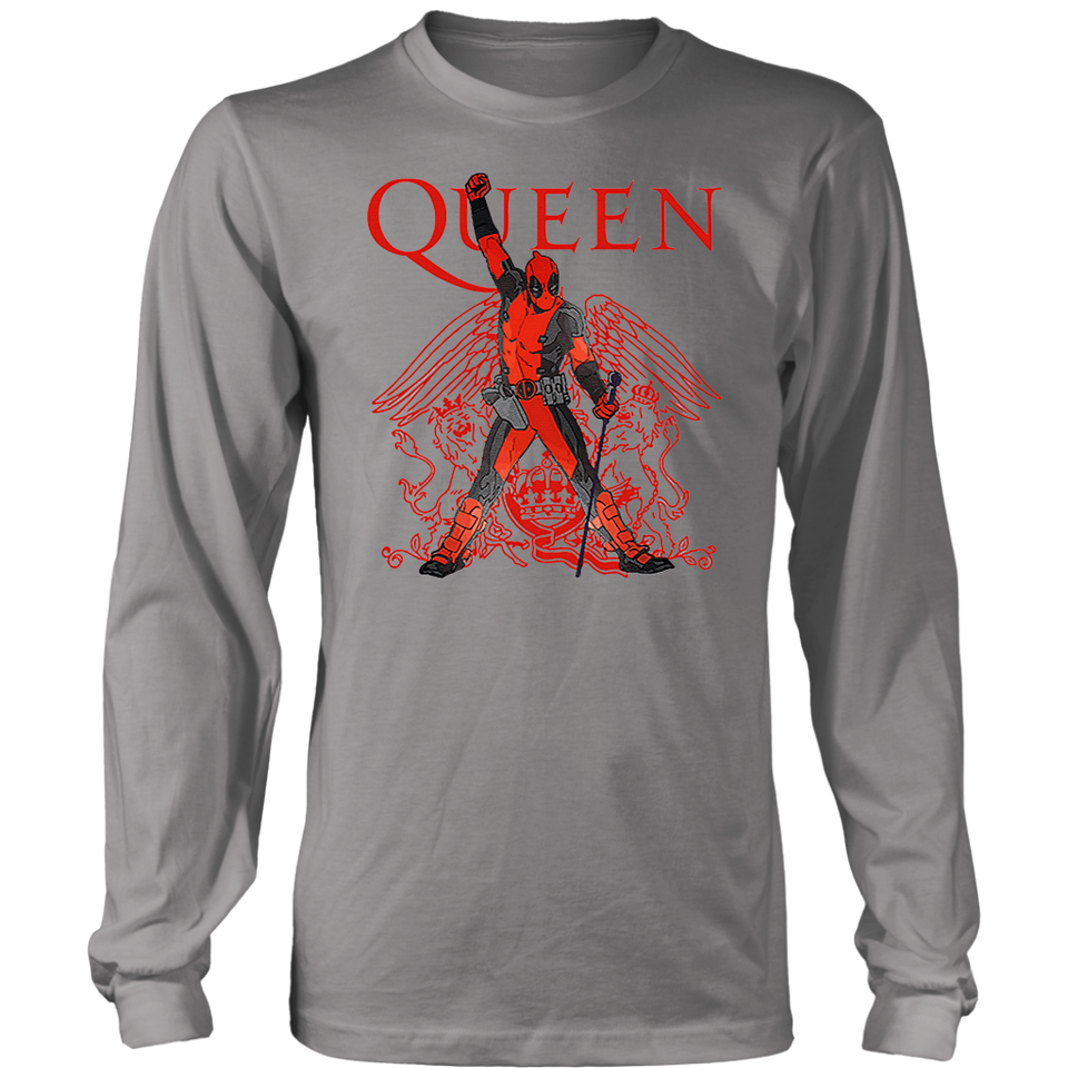 Deadpool Freedie Mercury Queen We Are The Champions Sweater