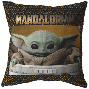 Star Wars The Mandalorian The Child Pod Pillow Screenshot