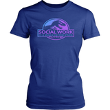 Social Work Is A Walk In The Park Jurassic Park T Shirt