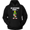 Marvin The Martian My Attitude Today T-Shirt