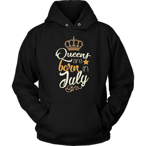 Queens Are Born In July 2020 Funny Birthday Gift T-Shirt