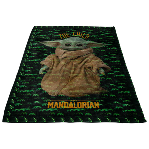 Star Wars The Mandalorian The Child Cute Quilt Blanket