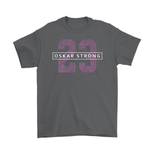 Oskar Strong 23 Mens T-Shirt